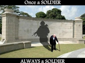 Veterans Retirement Home - Once a Soldier Always a Soldier