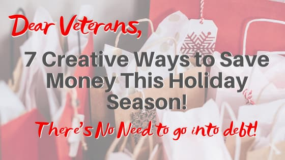 The Veterans Budget This Holiday Season